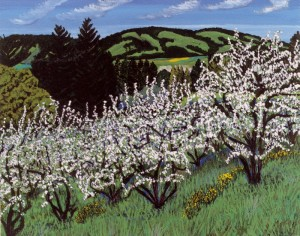 Apple Blossoms, Coffee Lane