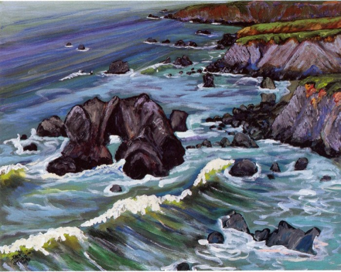 Arch Rock, Surf